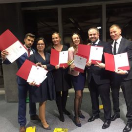 Oktawia graduated Leadership Academy for Poland 2017